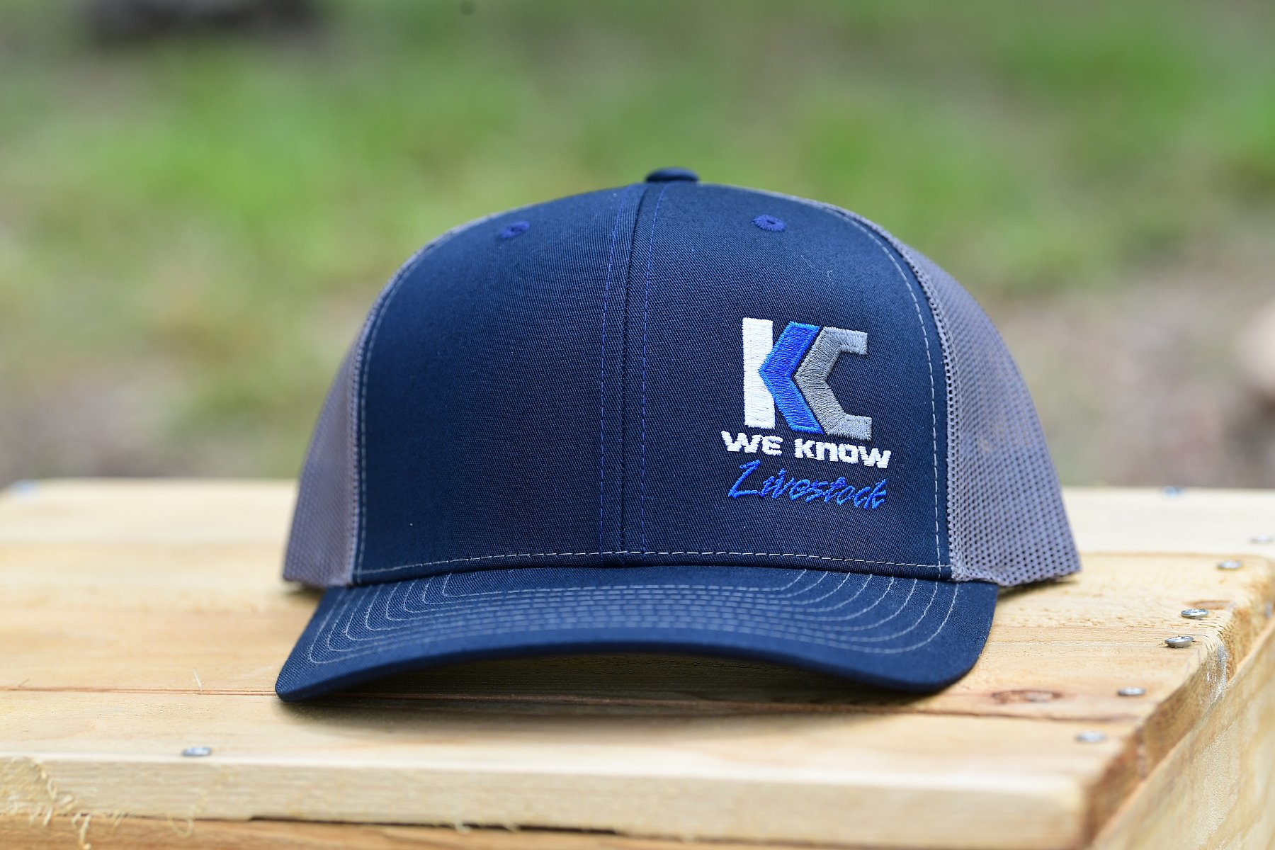 R-112 Style Hat-Color Blue with Side logo | KC5_3685.JPG