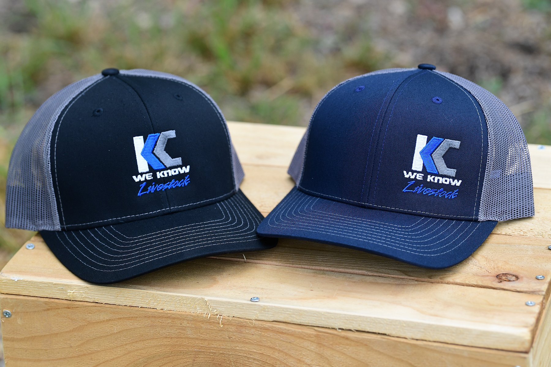 R-112 Style Hat-Color Blue with Side logo | KC5_3687.JPG