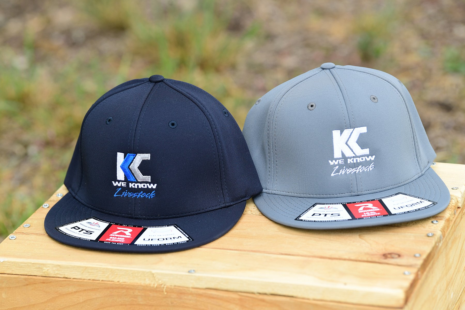 PTS20 Fitted Hat-Grey Silver Logo Size LG/XL | PTS20_KC5_3717.JPG