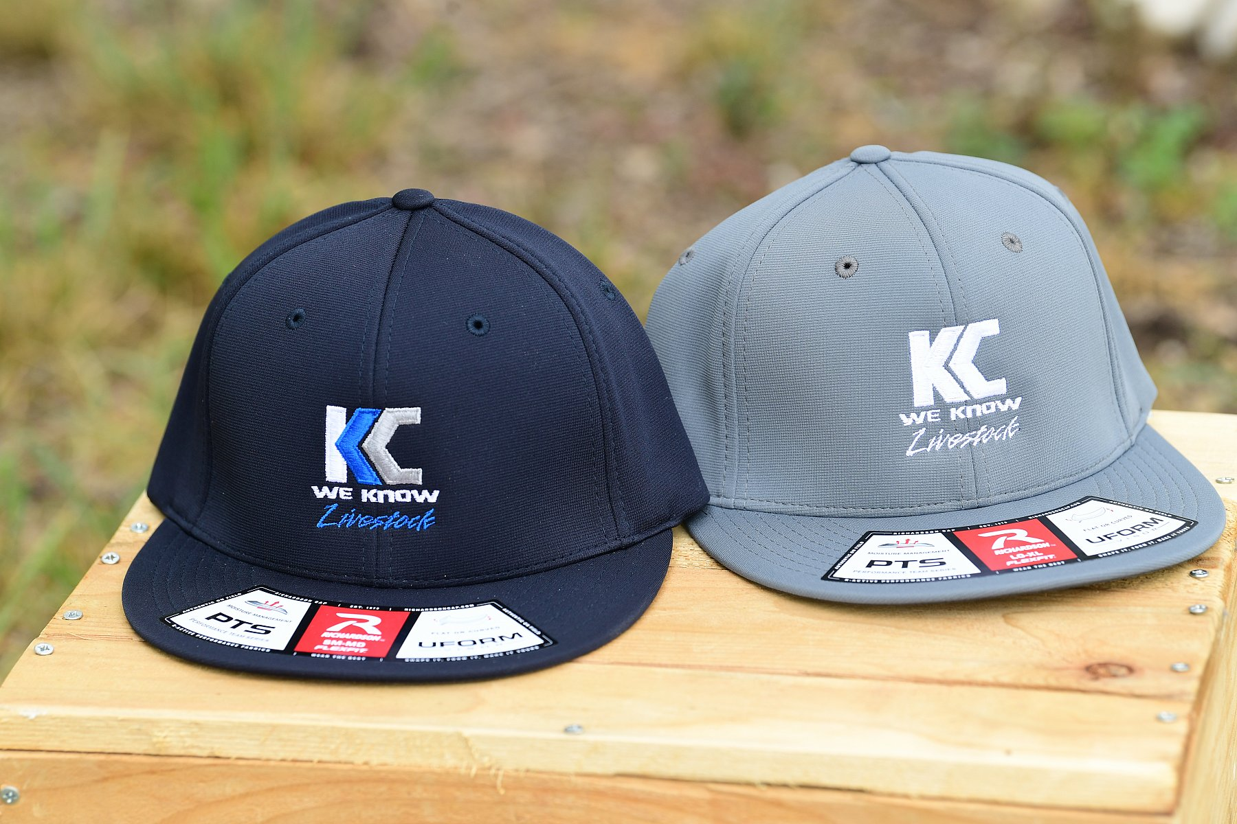 PTS20 Fitted Hat-Black Color Logo Size SM/MD | PTS20_KC5_3715.JPG