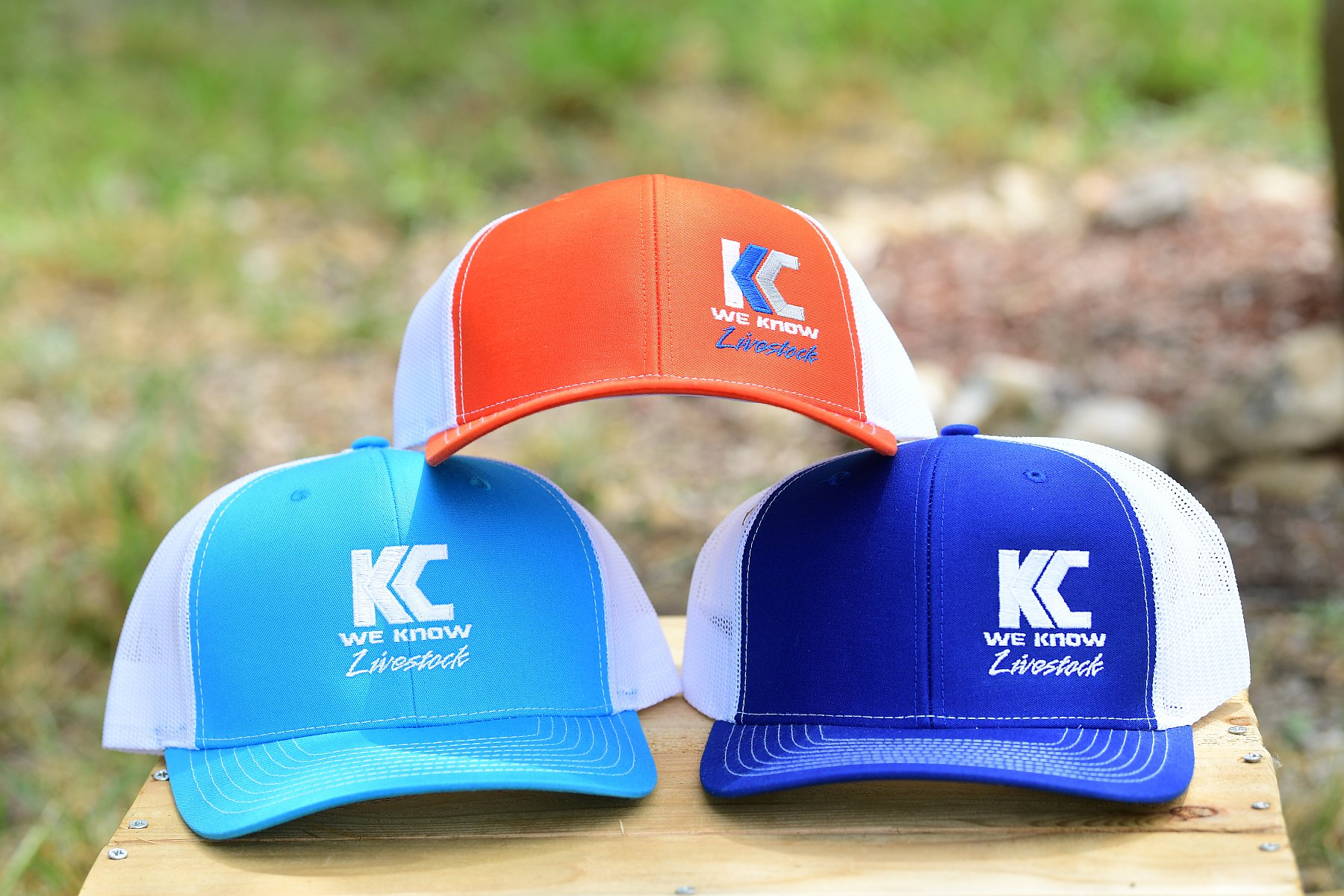 R-112 Style Hat Royal Turquoise with logo | R112_KC5_3694.JPG