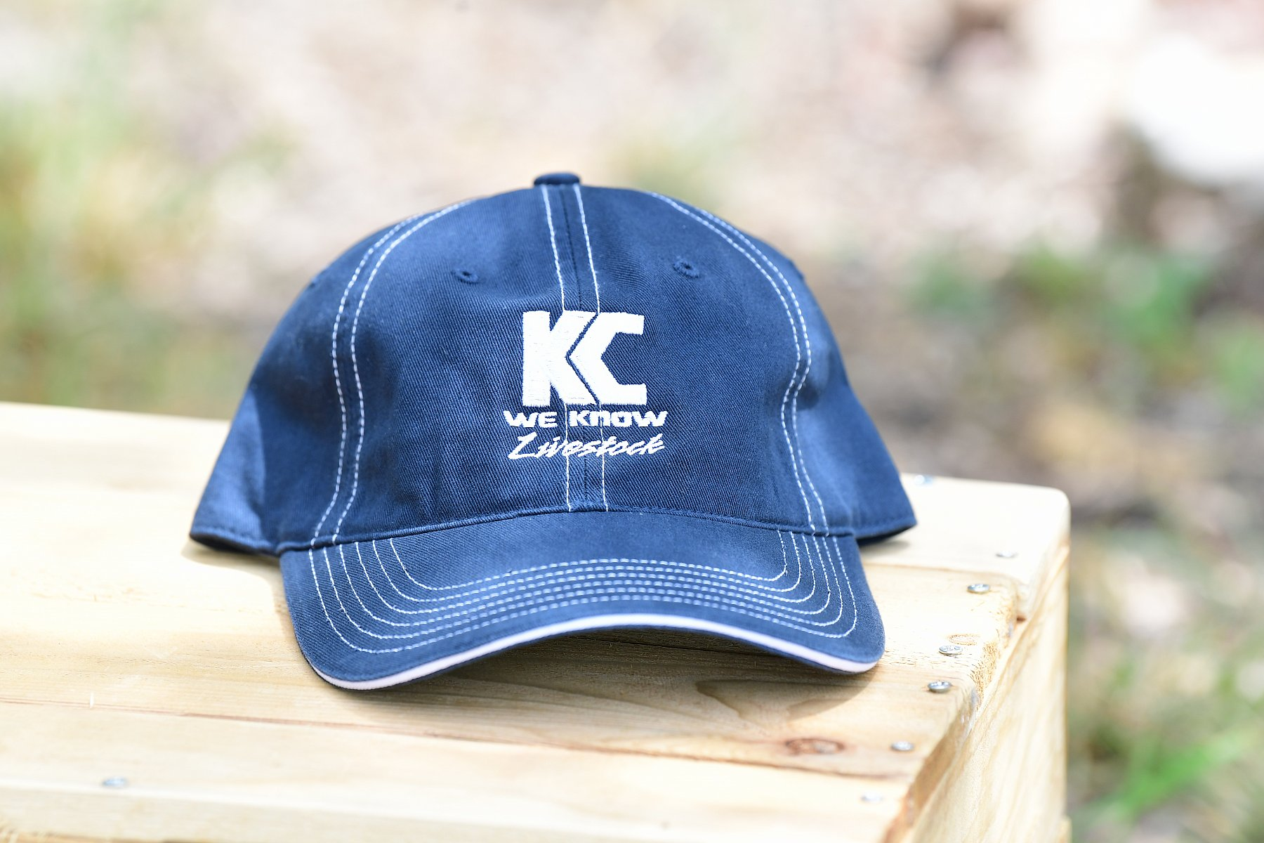 R-325 Style Hat Navy with logo | R325_KC5_3711.JPG