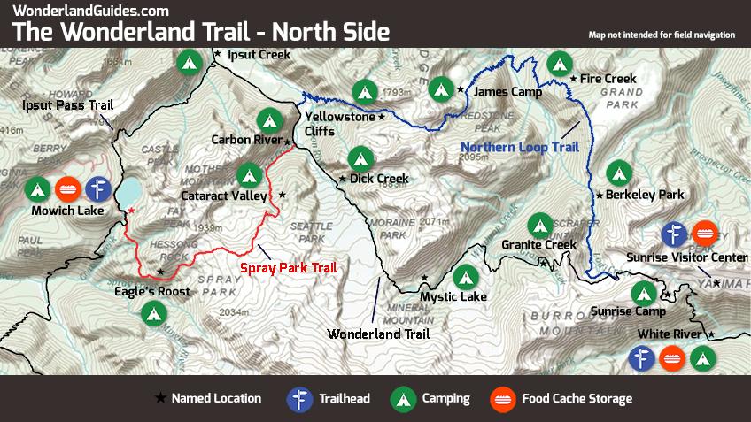 Mount Rainiers Northern Loop Trail Wonderland Guides