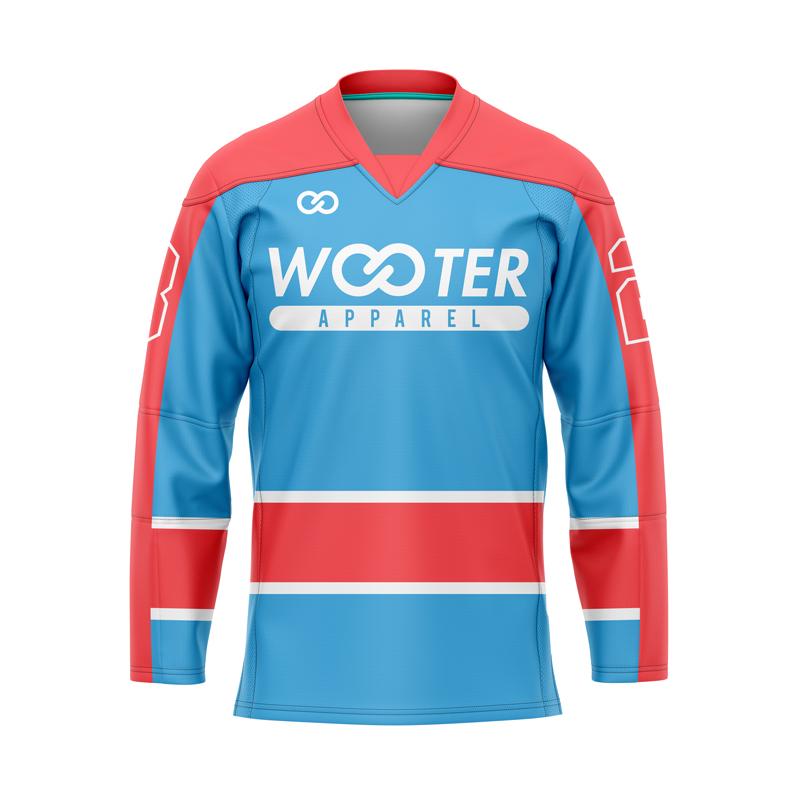 V-Neck Hockey Goalie Jerseys