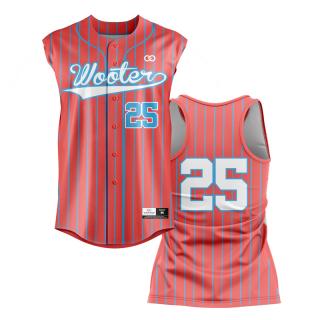 Racerback Button-Down Baseball Jerseys