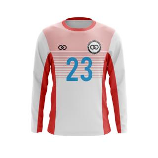 Long Sleeved Crew Neck Soccer Jerseys
