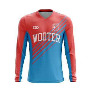 Long Sleeved V-Neck Soccer Jerseys
