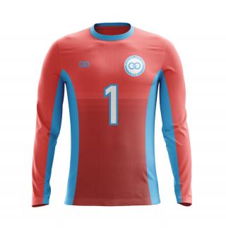 Crew Neck Goalie Soccer Jerseys