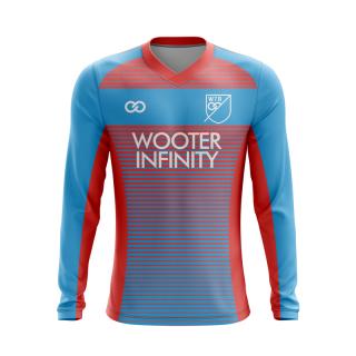 V-Neck Goalie Soccer Jerseys