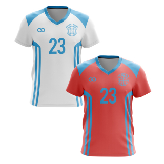 Reversible V-Neck Soccer Jerseys