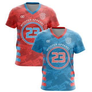 Reversible Sleeved V-Neck Basketball Jerseys