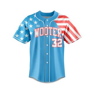 Lightweight Button-Down Baseball Jerseys
