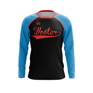 Baseball Long Sleeved Crew Neck T-Shirts