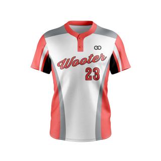 Lightweight 2-Button Baseball Jerseys