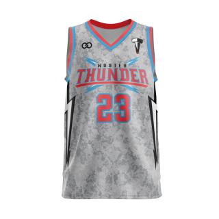 V-Neck Basketball Jerseys