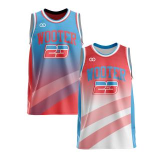 Reversible Crew Neck Basketball Jerseys