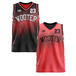 Reversible V-Neck Basketball Jerseys