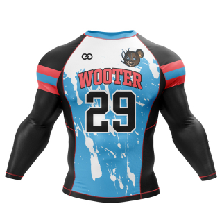 Football Long Sleeved Compression Shirts