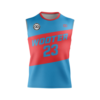 Sleeveless Crew Neck Volleyball Jerseys