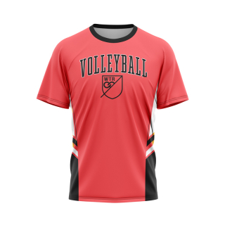 Short Sleeved Crew Neck Volleyball Jerseys