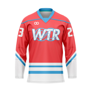 V-Neck Hockey Jerseys