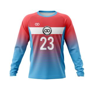 Raglan Crew Neck Goalie Soccer Jerseys
