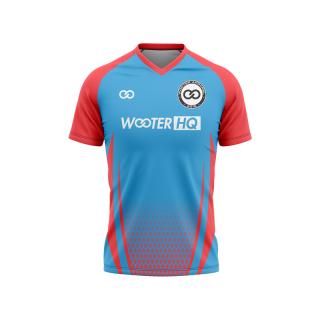 Raglan V-Neck Soccer Jerseys