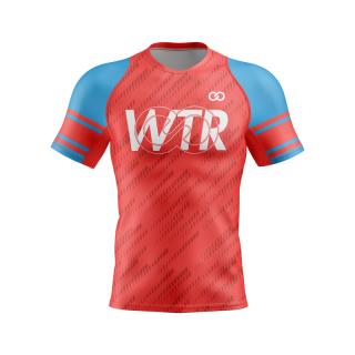 Short Sleeved Flag Football Compression Shirt