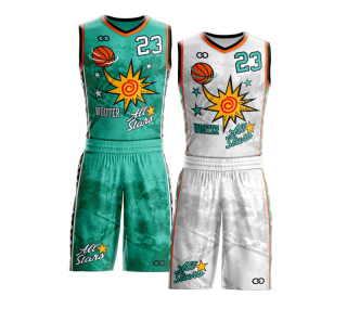 Reversible Basketball Uniform Package