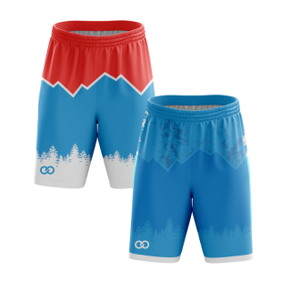 Reversible Flag Football Shorts
