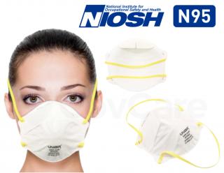 UNIAIR 9550 NIOSH N95 Face Masks