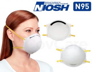 Makrite 9500 NIOSH N95 Face Masks