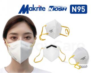 Makrite Sekura NIOSH N95 Face Masks