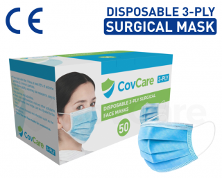 Disposable 3-Ply Civil Face Mask (Level 1)