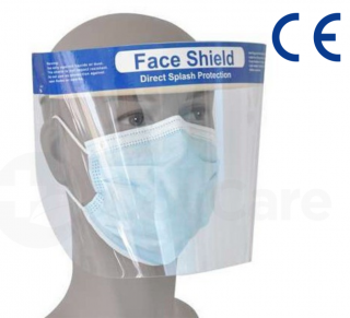 Face Shield with Padding, CE Certified