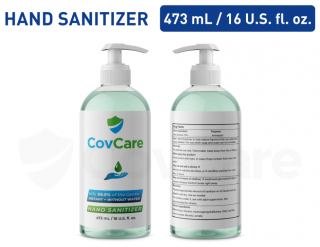 CovCare Hand Sanitizer 473ml