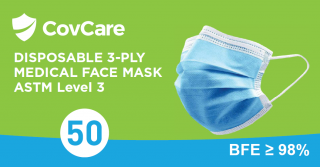 3-Ply Face Mask - ASTM Level 3