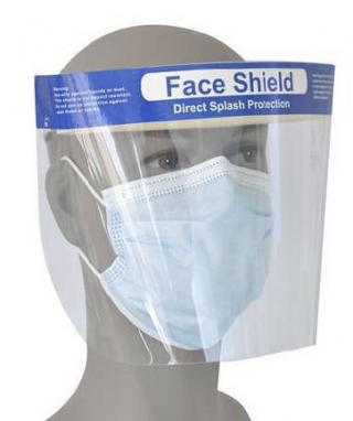 FDA Certified, Face Shield with Padding