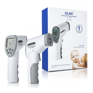 FDA Certified, Non-Contact Infrared Thermometer