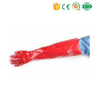 Waterproof chemical resistant nitrile examination glove