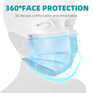 Medical Surgical Face Mask Disposable 3ply