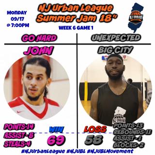Week 6 Game 1