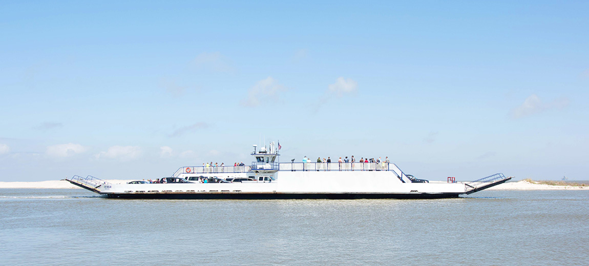 mobile bay ferry schedule times