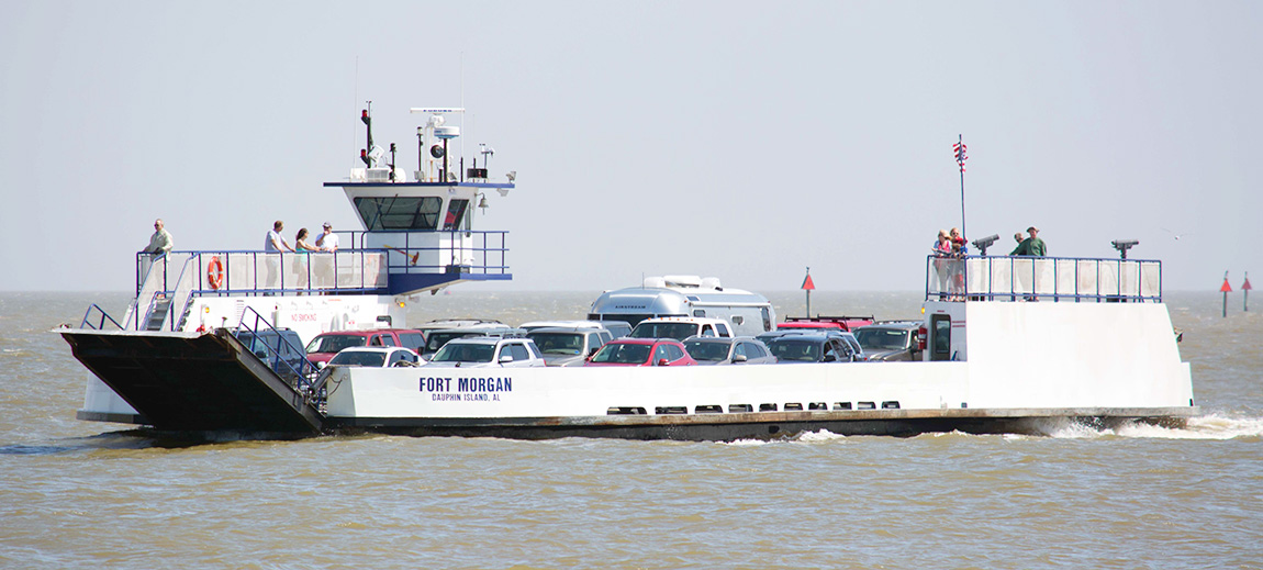 rules mobile bay ferry