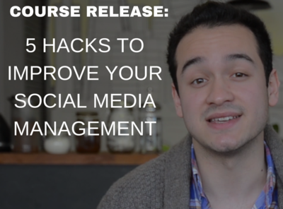 5 hacks to improve your social media management
