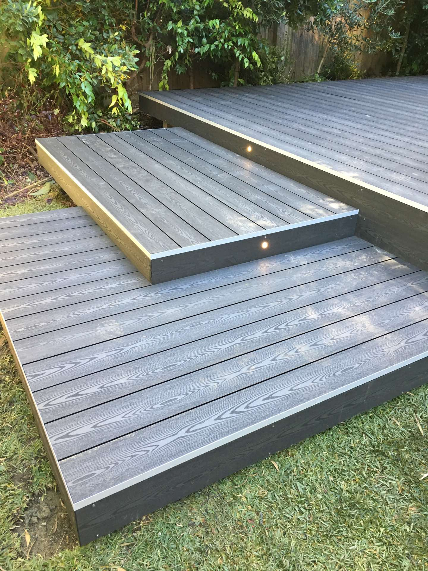Despite torrential rain and flooding we finished. Finished with a couple of deck and garden lights it's ready to enjoy. Full lengths no joins and everything works full boards Dee Why, NSW