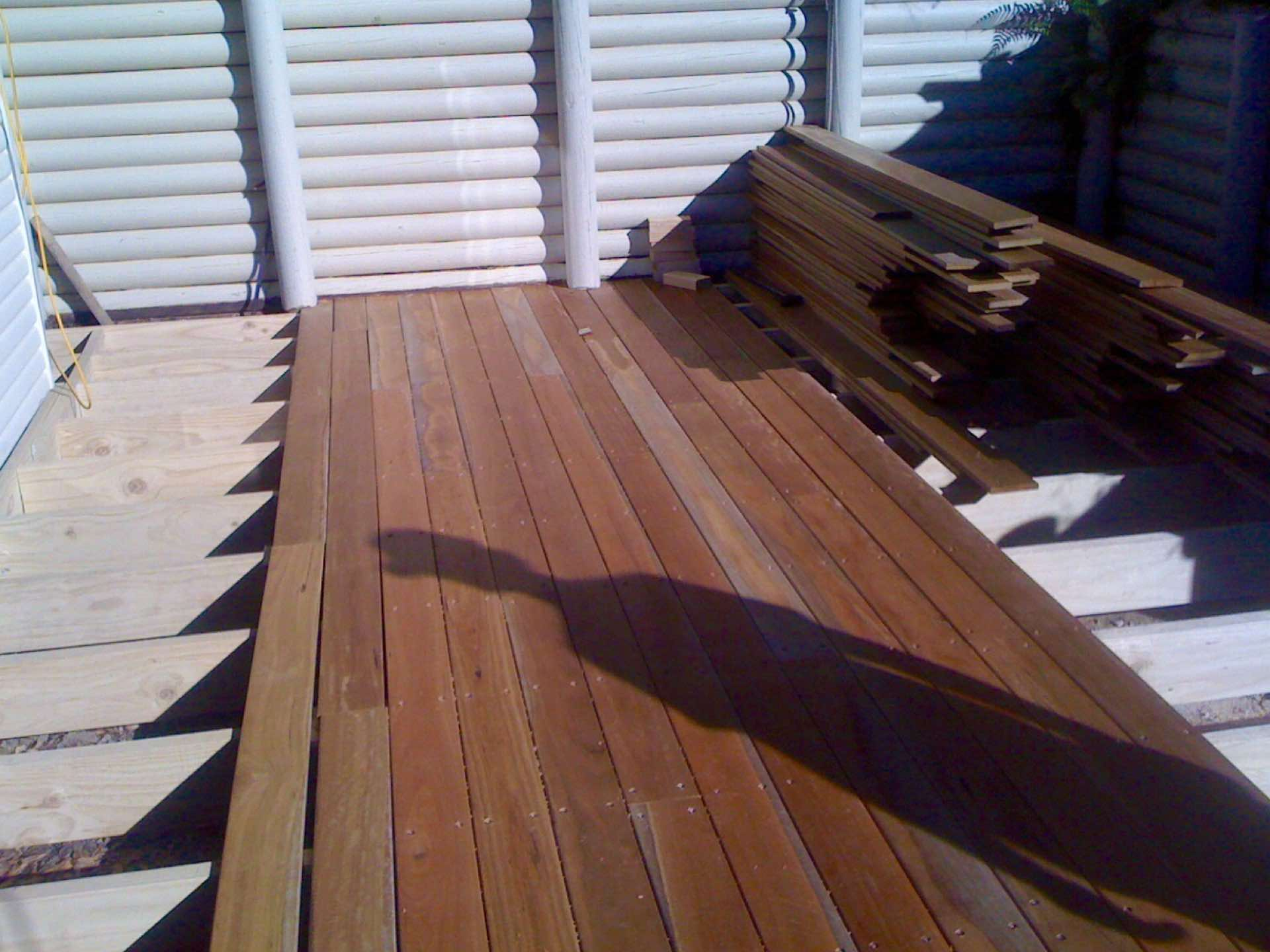 Spotted gum decking Elanora Heights, NSW