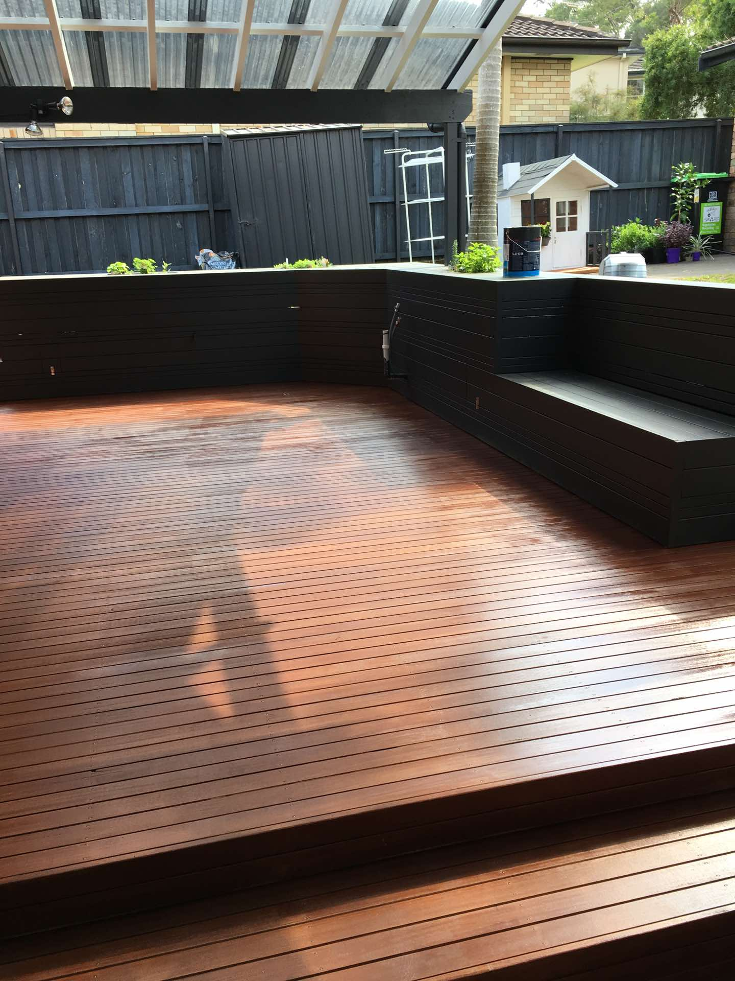 All done. Ready for outdoor kitchen and Bbq, tables and chairs Frenchs Forest, NSW