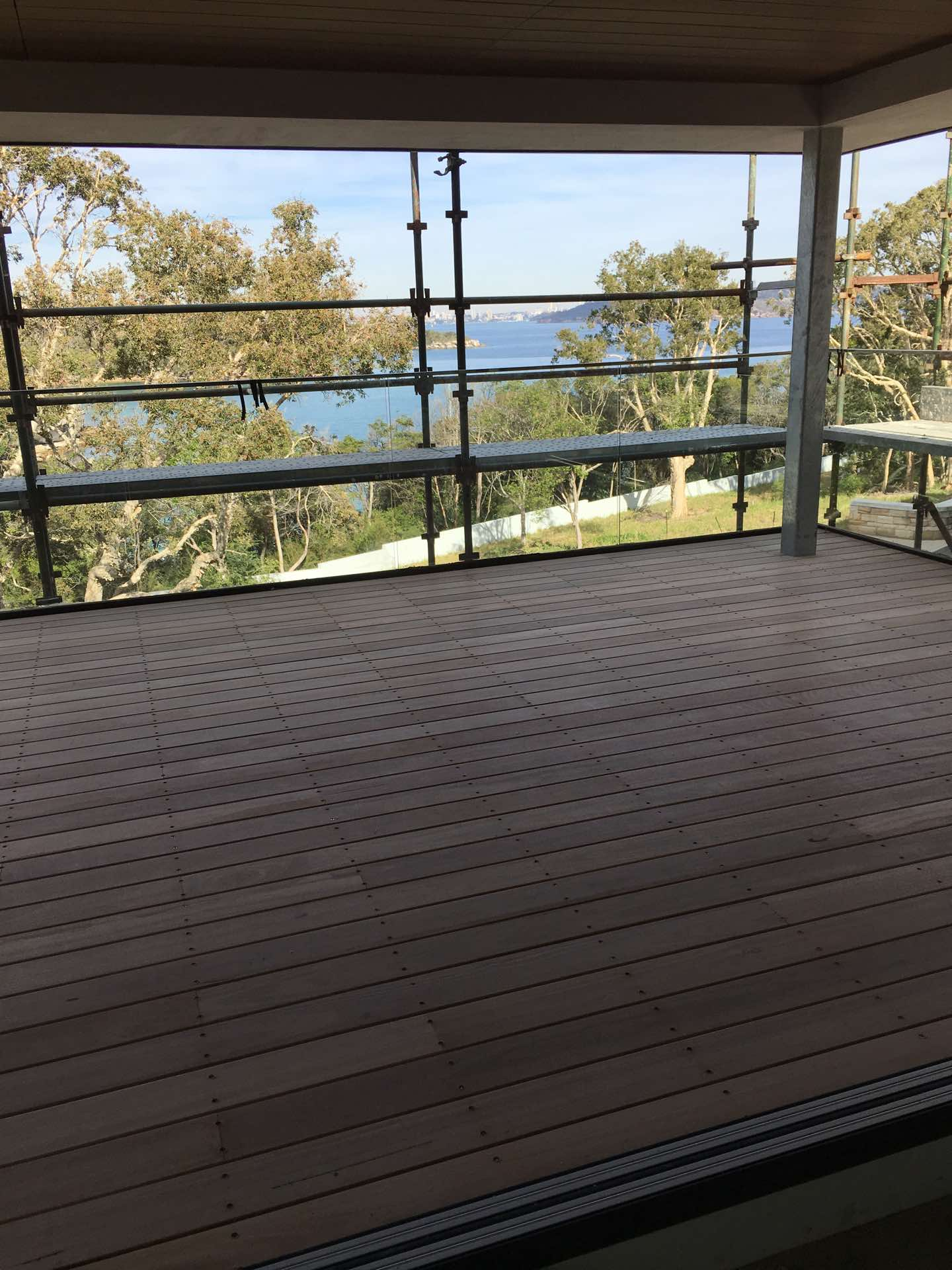 Upper covered deck Manly, NSW