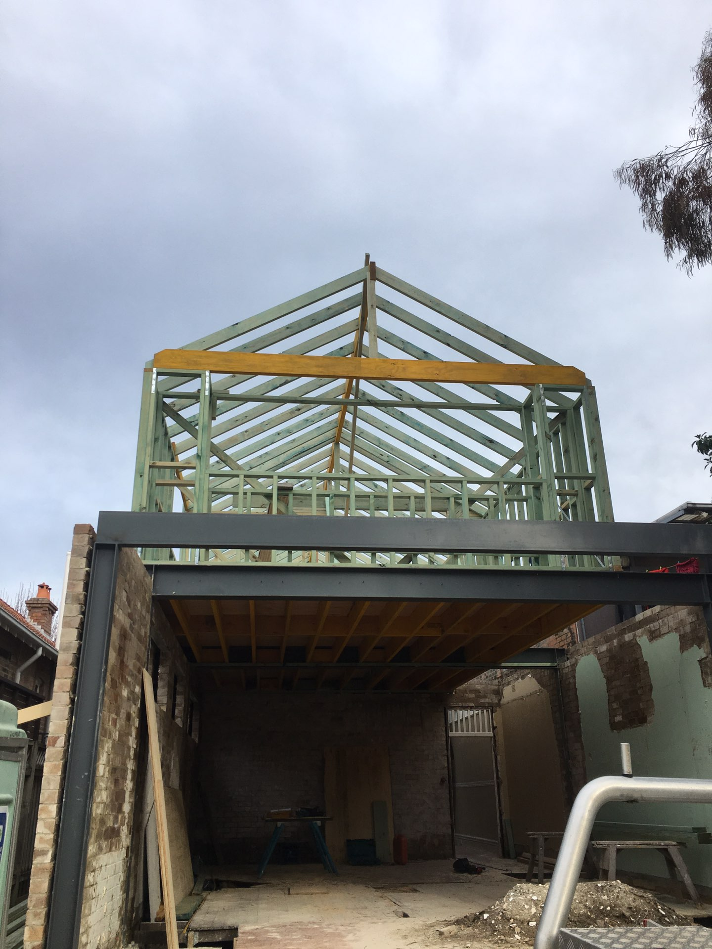 Extension and second storey addition.  Mosman, NSW